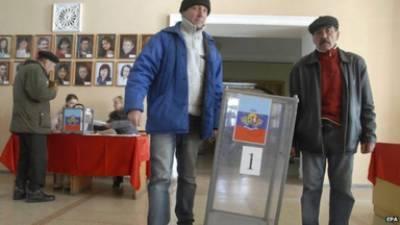 یوکر ائن میں روسی نواز علیحدگی پسندوں کے متنازعہ انتخابات