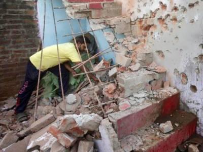 چاروا سیکٹر پر بھارتی فوج کی پھر گولہ باری، فائرنگ، متعدد گھروں کو نقصان پنجاب رینجرز کا بھرپور جواب