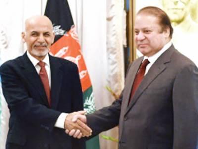 دہشت گردوں سے مل کر نمٹیں گے' سرحد پر ان کی نقل و حرکت روکی جائیگی: پاکستان' افغانستان' تعلقات بلند ترین سطح پر لے جانے کا عزم