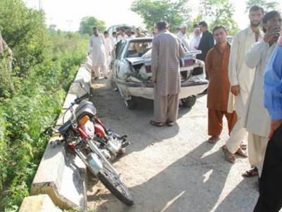 ٹریفک حادثات میں لڑکی سمیت 2 افراد جاں بحق' نوجوان کی تشدد زدہ نعش برآمد