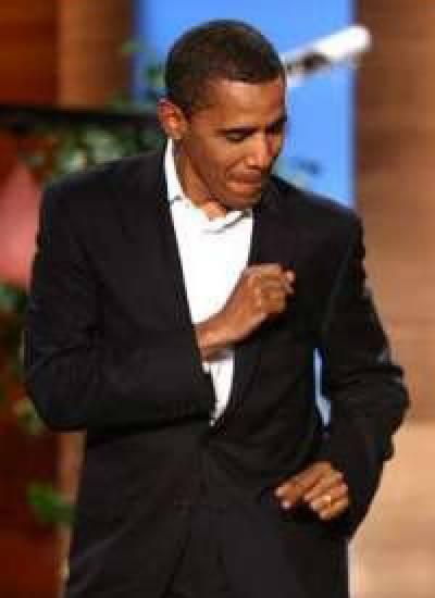 اوباما کا نیشنل کرسمس ٹری روشن کرنے کی تقریب میں رقص