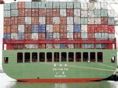 دنیا کا سب سے بڑا بحری کنٹینر شنگھائی سے یورپ روانہ