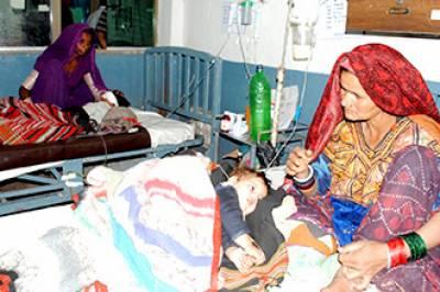 تھر میں بھوک اور بیماریوں سے مزید 3 بچے جاں بحق