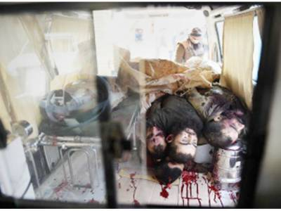 سانحہ پشاور: ماسٹر مائنڈ کا بھائی اور 34 دہشت گرد ہلاک' 3 اہلکار شہید