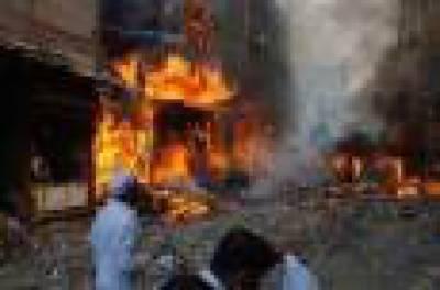 نامعلوم افراد فرنیچر شاپ کو آگ لگا کر فرار شارٹ سرکٹ سے گودام میں آتشزدگی