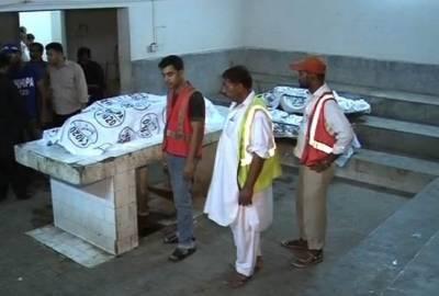 گھر کی دہلیز پر قتل ہونے والے 3 بچوں کے باپ کی نعش ورثاء کے سپرد
