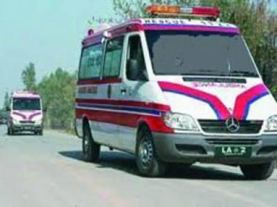 ریسکیو 1122 نے حادثات کا شکار 456 افراد کو مدد فراہم کی