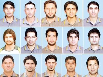 ورلڈ کپ: 15 رکنی قومی سکواڈ کا اعلان' 7 کھلاڑی پہلی بار شرکت کرینگے