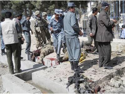 افغانستان: بم دھماکے، فائرنگ اورپولیس اکیڈمی پر خودکش حملہ، جج سمیت15 افراد ہلاک