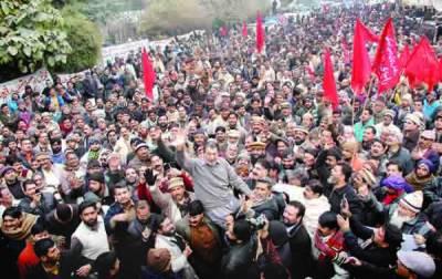 واپڈا کی مجوزہ نجکاری کیخلاف لاہور سمیت کئی شہروں میں مظاہرے