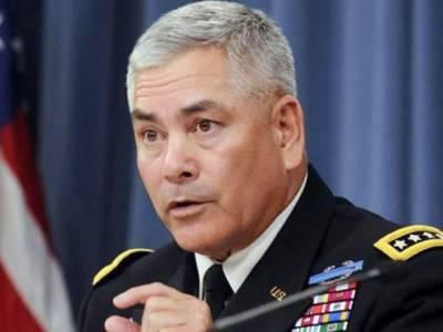 افغانستان میں امریکی فوجی مشن میں توسیع کا انحصار وہاں کے حالات پر ہے: جنرل کیمبل