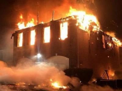 گھر میں آتشزدگی سے لاکھوں کا سامان خاکستر