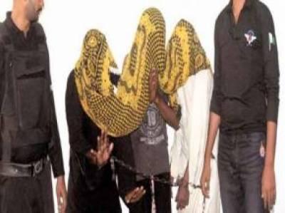 ساندہ: تاجر سے 10 لاکھ بھتہ مانگنے والے 3 ملزم گرفتار