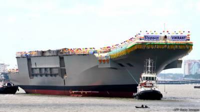چین کا مقابلہ: بھارت امریکی تعاون سے بڑا طیارہ بردار جہاز بنانا چاہتا ہے: دفاعی ذرائع