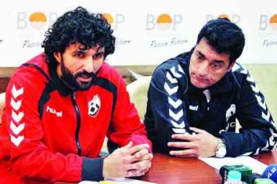پاکستان' افغانستان فٹ بال میچ کل ہو گا' دونوں ٹیموں کی طرف سے کامیابی کے دعوے
