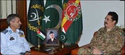 جنرل راحیل شریف اور سہیل امان سے اردنی ائرچیف کی ملاقاتیں، باہمی دلچسپی کے امور پر تبادلہ خیال