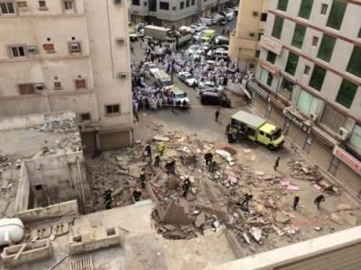 ریاض : زیر تعمیر عمارت گرنے سے سات مزدور جاں بحق' اکثریت پاکستانیوں کی ہے : العربیہ
