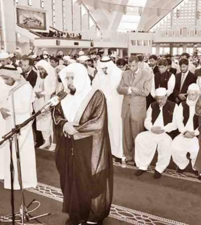 دین کی بنیاد ایک ہونے میں ہے، تقسیم کا فائدہ غیر مسلم اٹھا رہے ہیں: امام کعبہ