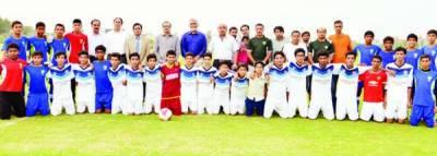 انڈر 14 فٹبال، قومی ٹیم نے بحریہ ٹاؤن کی ٹیم کو 4-0 سے ہرا دیا
