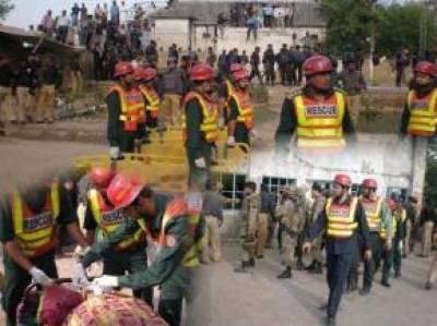 ریسکیو1122نے 620 ٹریفک حادثات کے متاثرین کو مدد فراہم کی