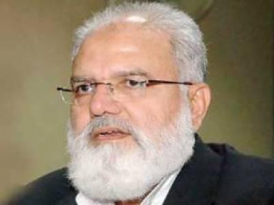 افغان صدر کو بھارتی سازشوں کو ناکام بنانے کیلئے پاکستان کا ساتھ دینا چاہئے: لیاقت بلوچ