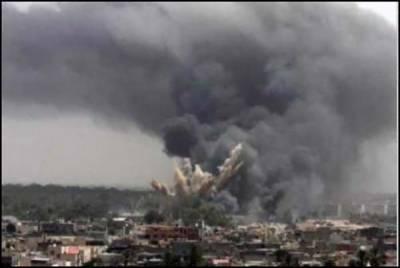 یمن : اتحادی طیاروں کی بمباری ، 25 فوجیوں سمیت 45 افراد ہلاک، باغیوں کا اسلحہ ڈپوتباہ