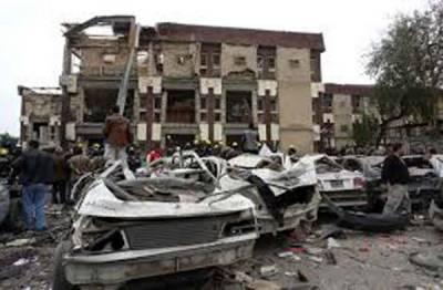 عراق: ہوٹلوں کے قریب داعش کا خودکش کار بم دھماکہ، ٹرک ڈرائیوروں سمیت15 جاں بحق
