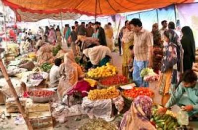 رمضان کی آمد، اتوار بازاروں میں اشیاء خوردونوش مہنگی، معیاری سبزیاں، پھل غائب