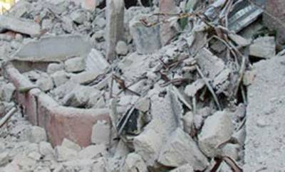 نمک فیکٹری کی چھت گرنے سے 6افراد ملبے تلے دب کر زخمی