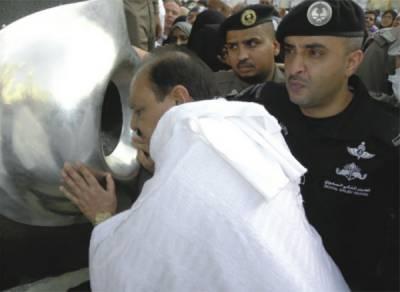 صدر ممنون نے عمرہ ادا کیا، پاکستان کے استحکام اور ترقی کیلئے خصوصی دعا کی