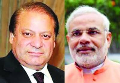 پاکستان سے اچھے تعلقات چاہتے ہیں: نریندر مودی، جنگ بھلا کر امن کی طرف آنا ہو گا: نوازشریف