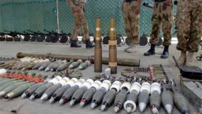 نیشنل ایکشن پروگرام کے تحت کارروائی، 2 ہفتے کے دوران بھاری تعداد میں اسلحہ برآمد
