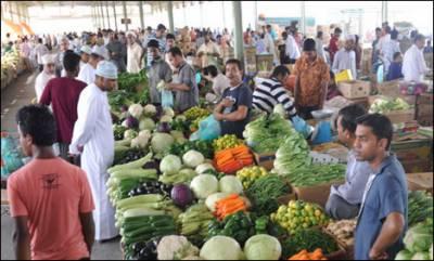 عید قریب آنے کے باوجود سبزیوں پھلوں کی قیمتیں آغاز رمضان کی سطح پر برقرار