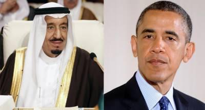 سعودی فرمانروا کا اوبامہ سے رابطہ، حوثی قبائل ، ایران کیساتھ جوہری معاہدے پر تبادلہ خیال