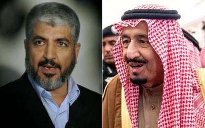 ریاض: خالد مشعل کی سعودی فرمانروا سے ملاقات، اہم امور پر تبادلہ خیال