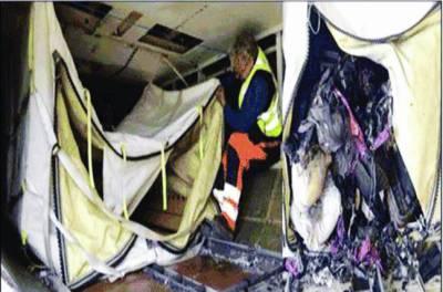 بم حملوں سے بچنے کیلئے جہازوں میں فلائی بیگ لگا دیئے گئے