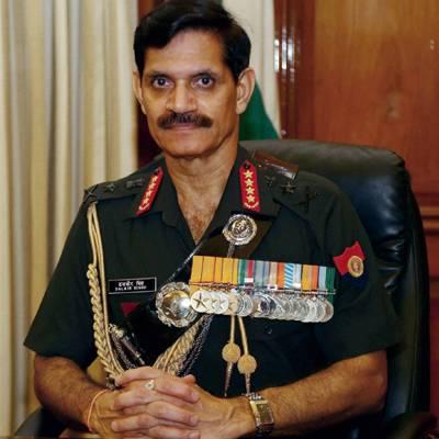 کسی نئے کرگل کی اجازت نہیں دینگے، فوج ہر صورتحال سے نمٹنے کیلئے تیار ہے: بھارتی آرمی چیف