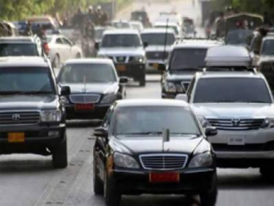 اسلام آباد : وزیراعظم کے قافلے میں گاڑی غلطی سے گھس گئی' ڈرائیور تحقیقات کے بعد رہا