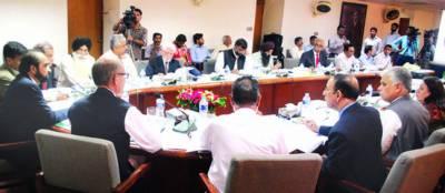 متروکہ وقف املاک بورڈ کا اجلاس' 2 ارب 90 کروڑ کے بجٹ کی منظوری