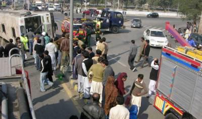 لاہور ، فیروزوالا میں ٹریفک حادثات، خاتون سمیت 5 افراد ہلاک، 5 شدید زخمی