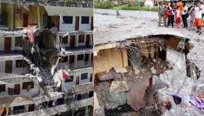 ہماچل پردیش : گوردوارے پر پہاڑی تودہ گرنے سے 7 زائرین ہلاک، 9 زخمی
