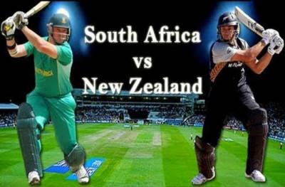 نیوزی لینڈ اور جنوبی آفریقہ کے مابین 3ایک روزہ میچوں کی سیریز کا پہلا میچ آج کھیلا جائے گا