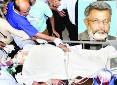 کراچی: متحدہ کے رہنما رشید گوڈیل قاتلانہ حملے میں شدید زخمی، ڈرائیور جاں بحق
