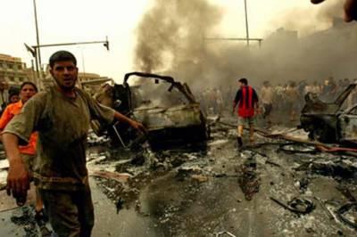 عراقی شہر رمادی میں دو بم دھماکے' 60 فوجی رضا کار ہلاک