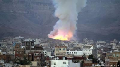 یمن : اتحادیوں کے فوجی تربیتی کیمپ پر فضائی حملے' چالیس حوثی ہلاک