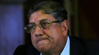 سری نواسن کو بھارتی کرکٹ بورڈ کی ورکنگ کمیٹی کے اجلاس سے نکال دیا گیا