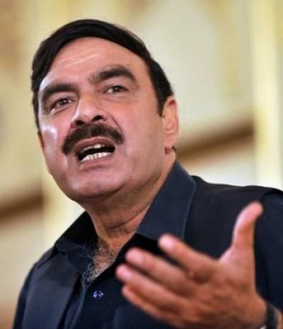 مجھ پر خودکش حملہ ہوسکتا ہے، پنجاب حکومت نے نقل و حرکت محدود رکھنے کی ہدایت کی : شیخ رشید