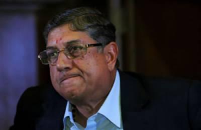 بھارتی بورڈمیں بے عزتی کے بعد سری نواسن کی آئی سی سی سے بھی چھٹی کا امکان