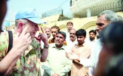 اقوام متحدہ مبصرین کا دورہ ورکنگ بائونڈری: بھارت شہریوں پر حملوں سے باز نہ آیا تو پوری طاقت سے جواب دیں گے: خواجہ آصف
