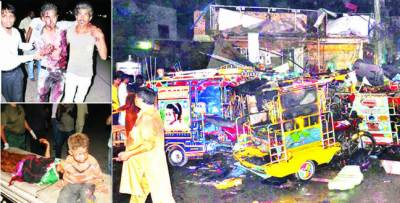 ملتان میں دھماکہ' 10 افراد جاں بحق' 57 زخمی